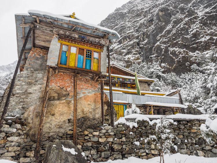 Ghunsa's gompa (monastery)