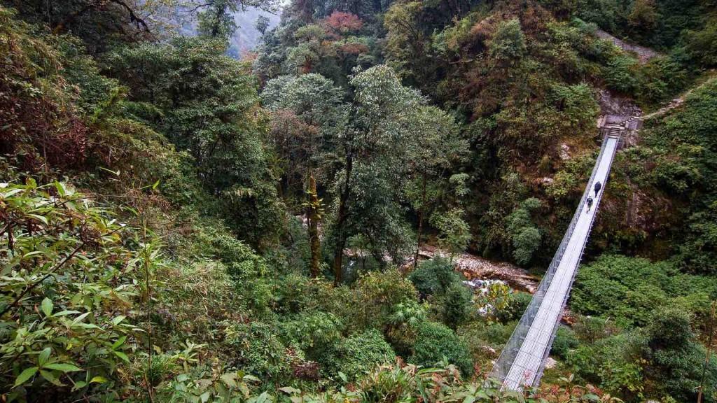 Suspension Bridge Kanchenjunga