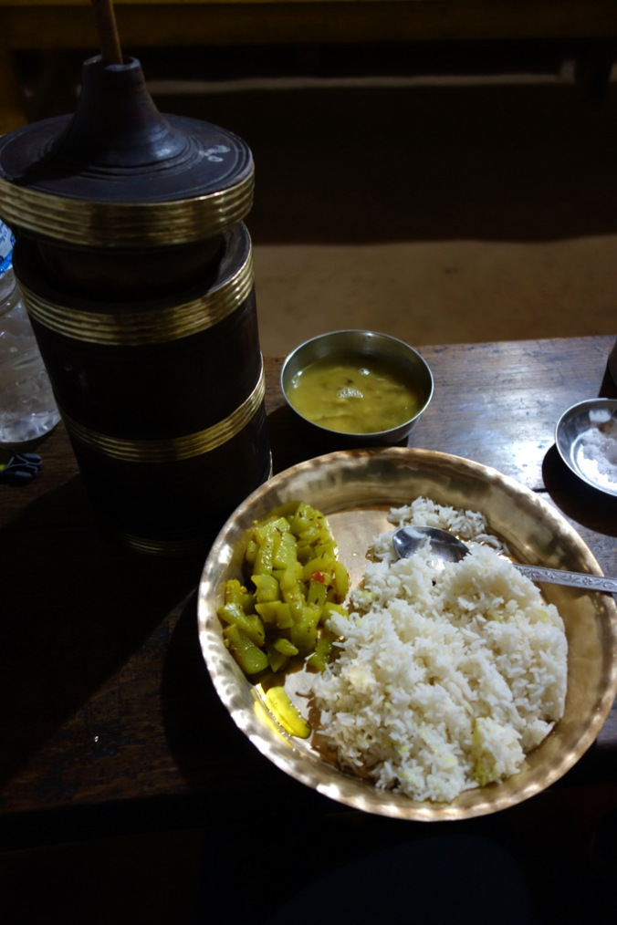 Dal bhat & tongba in Yampudin