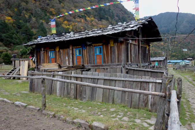 Tea house at Ghunsa