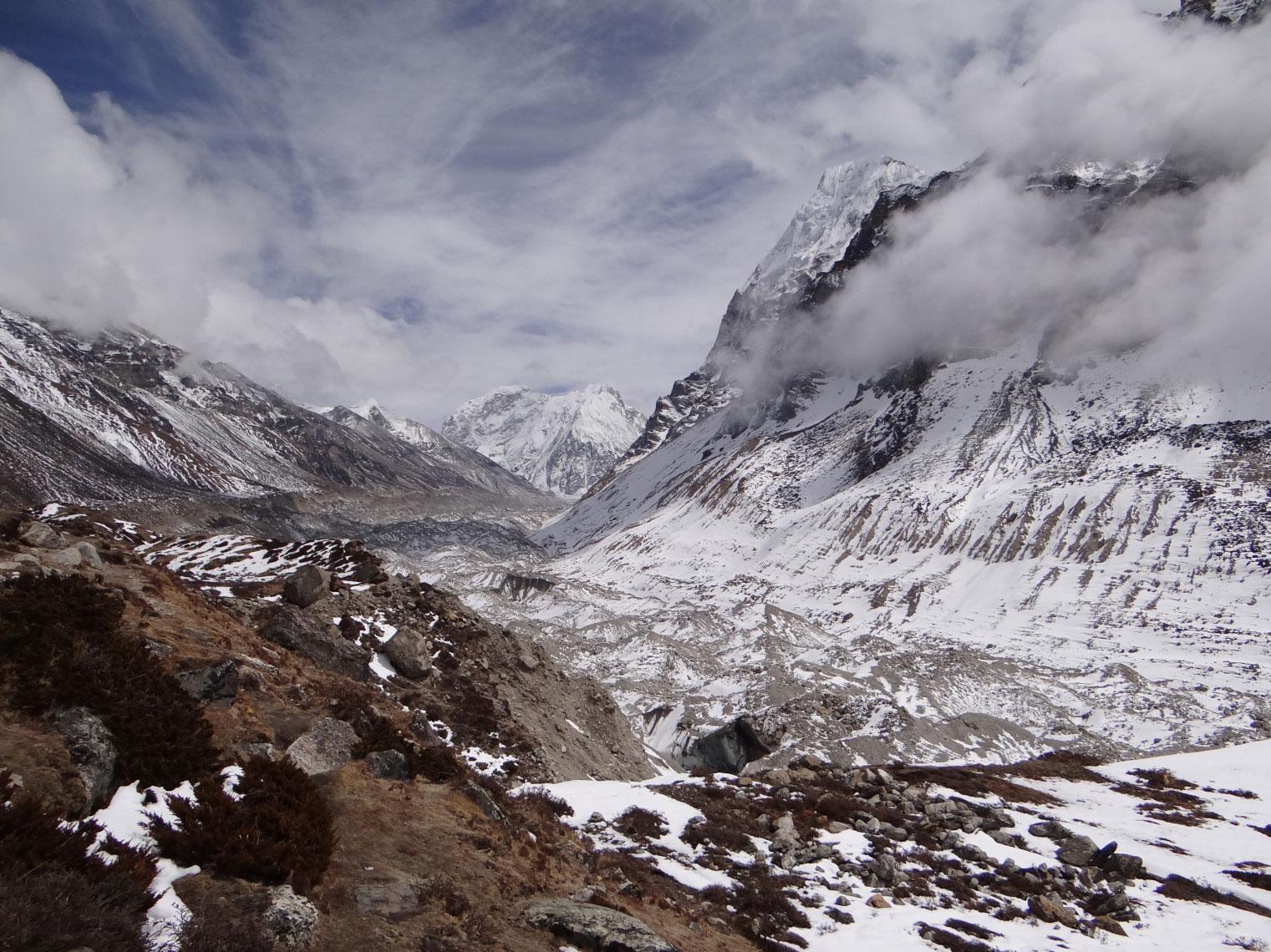 Kanchenjunga Glacier