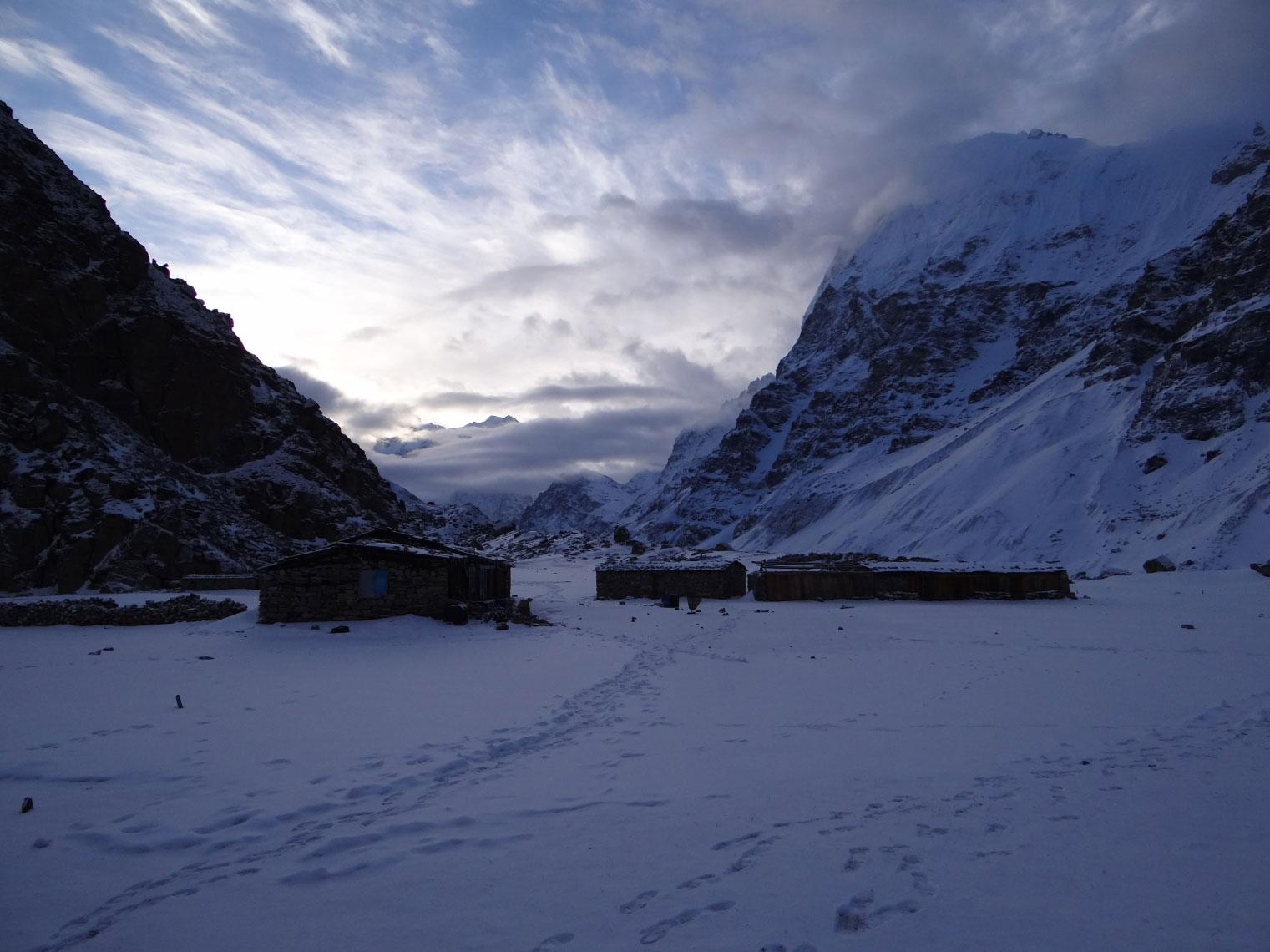 Lhonak-Pasture-Teahouse