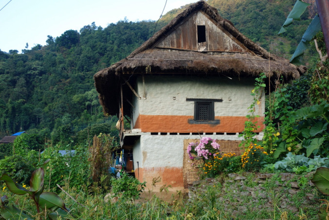 Local house in Khebang