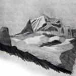 Painting Kanchenjunga