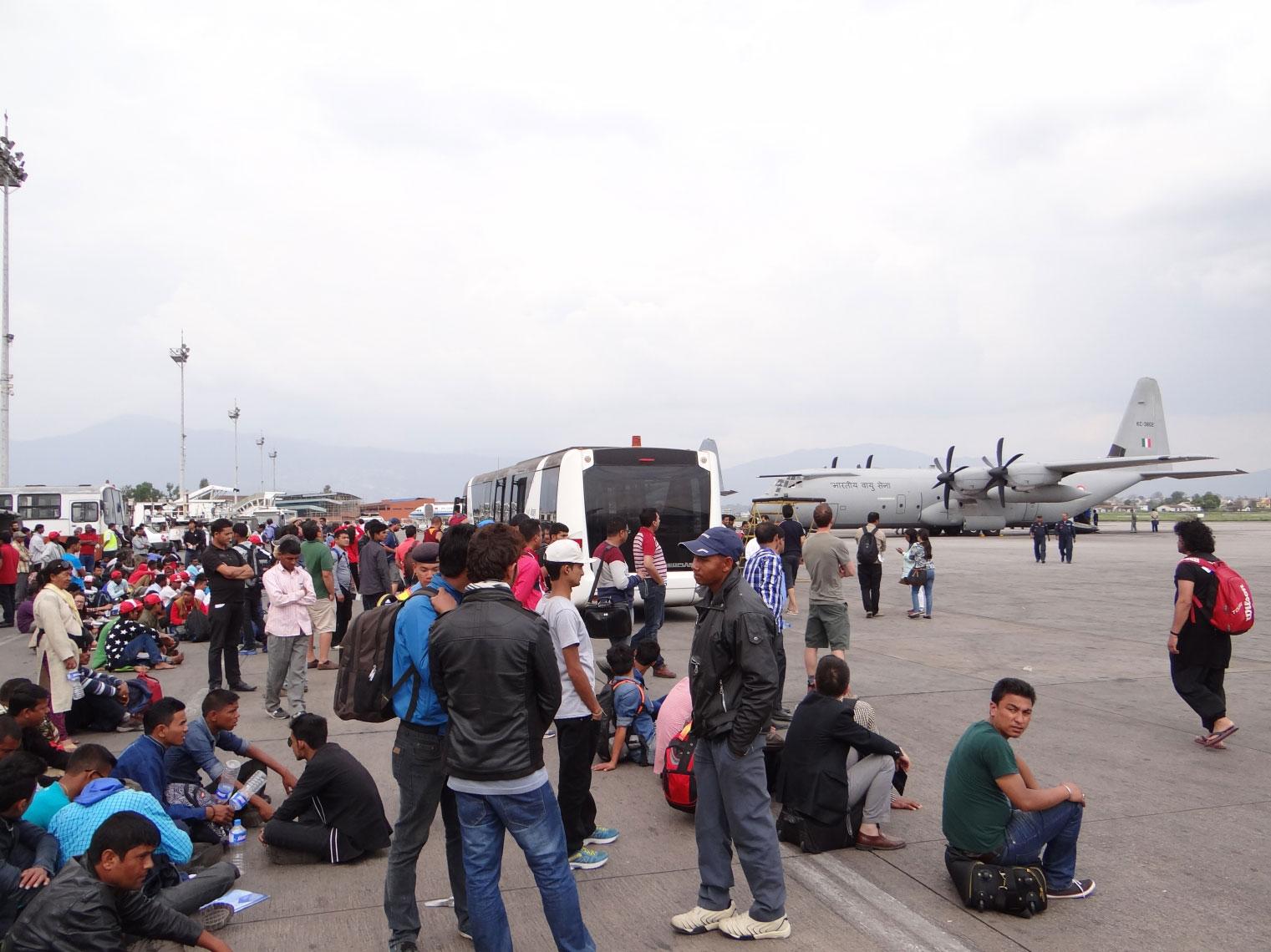 Kanchenjunga trek earthquake