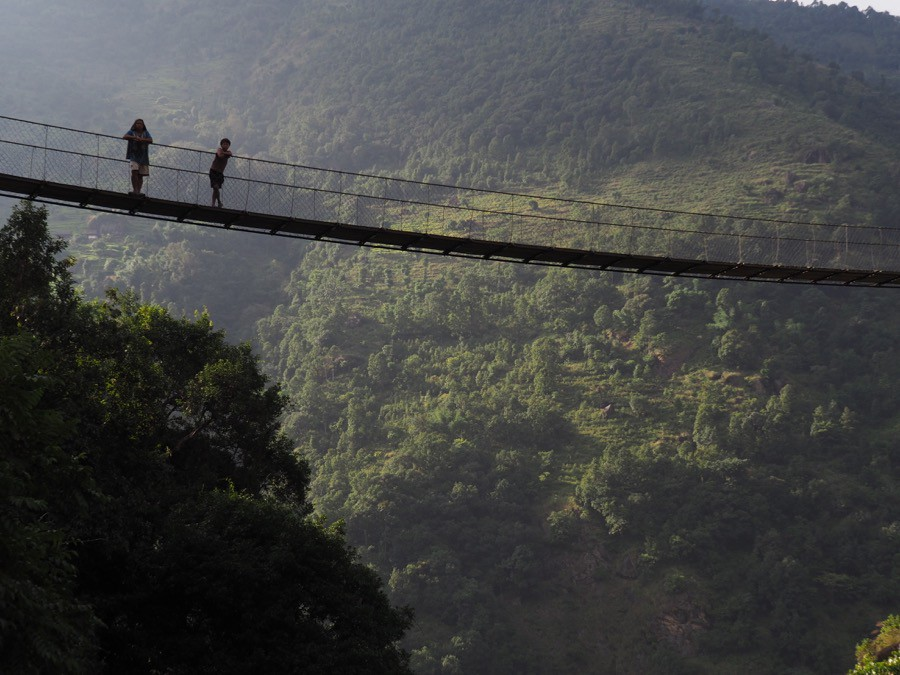 Suspension Bridge in Kanchenjunga