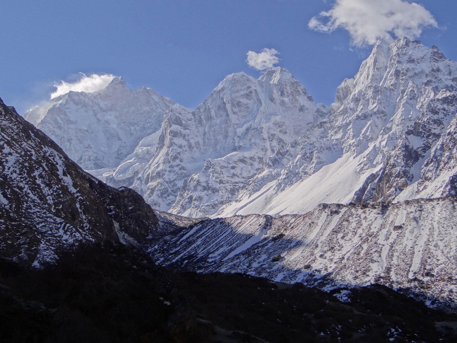 View from Kambachen