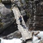 Wooden Bridge Kanchenjunga