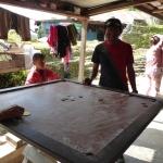Dawa Enjoying With Locals